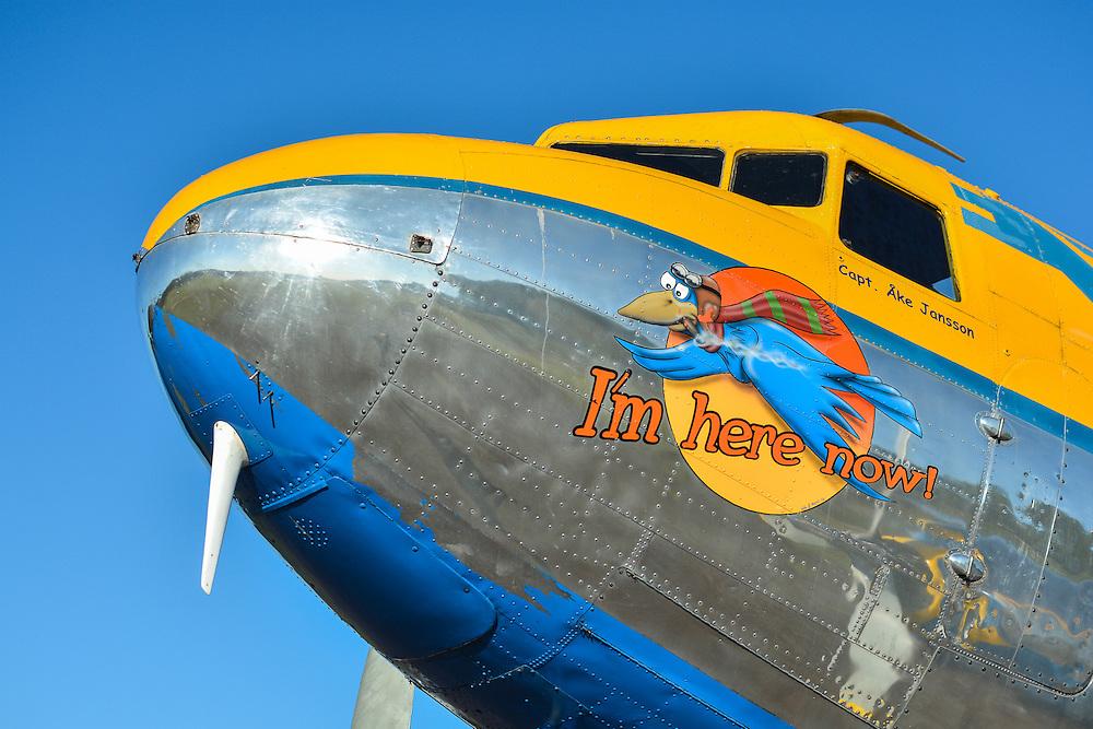 Douglas DC-3 1945 &quot;Congo Queen&quot; 9Q-CUK <br /> J&auml;mi Fly In &amp; Airshow 2013<br /> petrijuola.com