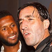 NLD/Amsterdam/20151110 - Life After Football Award 2015, David Mendes da Silva en Khalid Sinouh