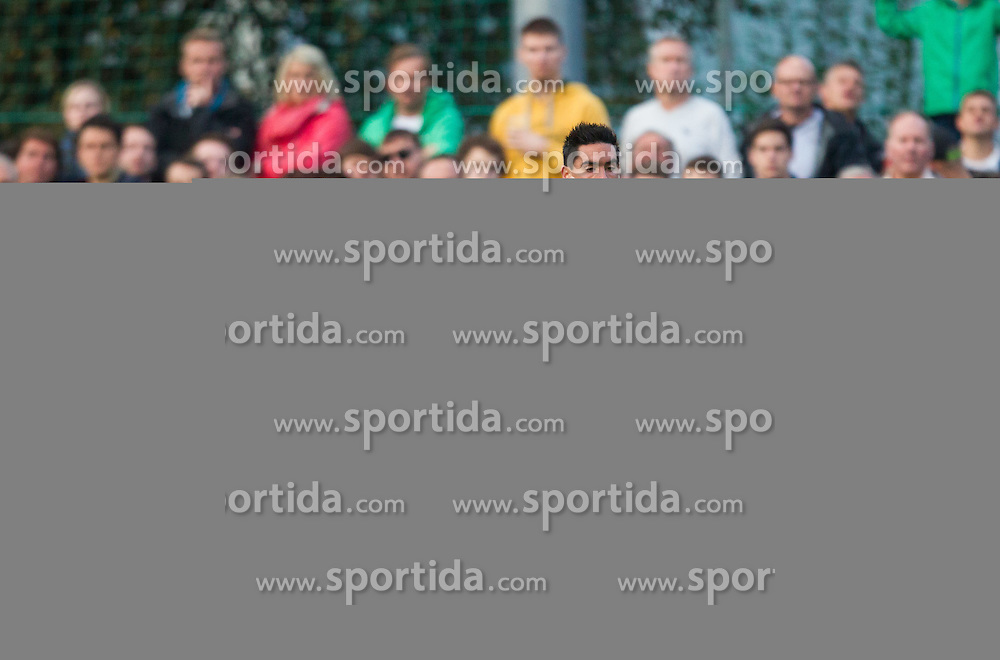 24.09.2014, Casino Stadion, Kitzbühel, AUT, OeFB Samsung Cup, FC Kitzbühel vs FK Austria Wien, im Bild Peter Gartner (FC Kitzbühel), De Paula (FK Austira Wien) // during the Austrian Cup, 2nd round Match between FC Kitzbühel and FK Austria Vienna at the Casino Stadium, Kitzbühel, Austria on 2014/09/24. EXPA Pictures © 2014, PhotoCredit: EXPA/ JFK