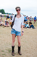 Head Scarf and Sunglasses, Bonnaroo