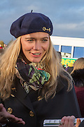 JODIE KIDD, Hennessy Gold Cup, The Racecourse Newbury. 30 November 2013.