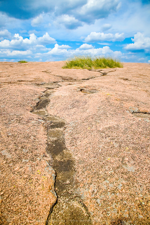 The top of Enchanted Rock State Park in the Texas Hill Country.