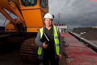 Sea People Project - Chris Tuck, Marine Director, SWL photographed onboard Union Pluto, Whitstable