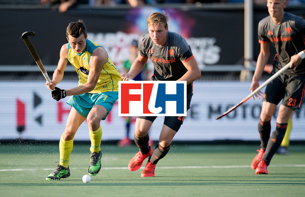 BREDA - Rabobank Hockey Champions Trophy<br /> Netherlands - Australia<br /> Photo: Lachlan Sharp.<br /> COPYRIGHT WORLDSPORTPICS FRANK UIJLENBROEK