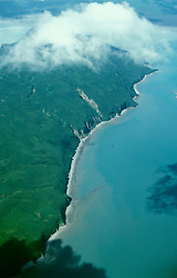 AK: Lake Clark National Park, Alaska, aerial scenic view  .Photo Copyright: Lee Foster, lee@fostertravel.com, www.fostertravel.com, (510) 549-2202.Image: akbear213