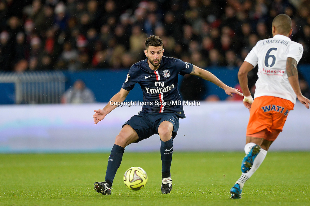 Thiago MOTTA - 20.12.2014 - Paris Saint Germain / Montpellier - 17eme journee de Ligue 1 -<br />