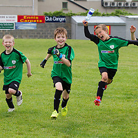 Young players at the Avenue Utd Summer Soccer Camp