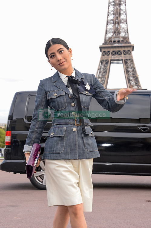Princess of Thailand Sirivannavari Nariratana attending the Hermes Fashion Show at Trocadero during Paris Fashion Week Spring Summer 2018 held in Paris, France on October 2, 2017. Photo by Julien Reynaud/APS-Medias/ABACAPRESS.COM