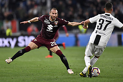 May 3, 2019 - Torino, Torino, Italia - Foto LaPresse - Fabio Ferrari.03 Maggio 2019 Torino, Italia .Sport.Calcio.ESCLUSIVA TORINO FC.Juventus Fc vs Torino Fc - Campionato di calcio Serie A TIM 2018/2019 - Allianz Stadium..Nella foto:Andrea Belotti (Torino Fc); ..Photo LaPresse - Fabio Ferrari.May 03, 2019 Turin, Italy.sport.soccer.EXCLUSIVE TORINO FC.Juventus Fc vs Torino Fc - Italian Football Championship League A TIM 2018/2019 - Allianz Stadium..In the pic:Lorenzo De Silvestri  (Credit Image: © Fabio Ferrari/Lapresse via ZUMA Press)