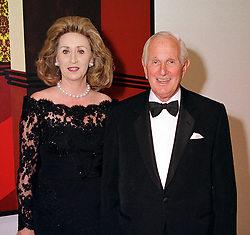 LORD & LADY WOLFSON OF MARYLEBONE at a <br /> dinner in London on 3rd May 2000.ODH 103