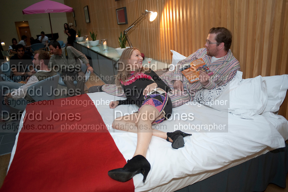 FLEUR BRITTEN; DAMIAN BARR, On The Couch: Tales Of Couchsurfing A Continent., Fleur Britten, book launch party Andaz London, 40 Liverpool Street, London EC2, 7-10pm