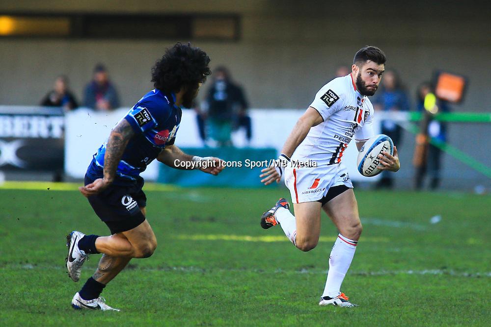 Alexis PALISSON - 20.12.2014 - Montpellier / Stade Toulousain - 13eme journee de Top 14 -<br />Photo : Nicolas Guyonnet / Icon Sport