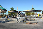 Old Plane at Orange County Great Park Irvine