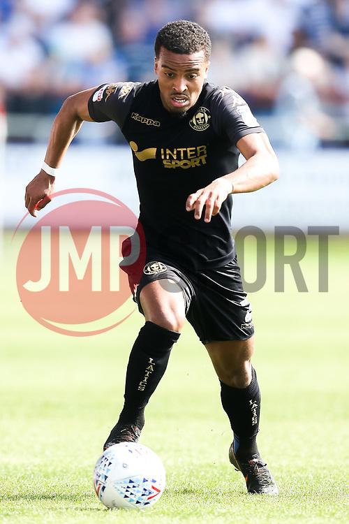 Nathan Byrne of Wigan Athletic - Mandatory by-line: Robbie Stephenson/JMP - 21/04/2018 - FOOTBALL - Highbury Stadium - Fleetwood, England - Fleetwood Town v Wigan Athletic - Sky Bet League One