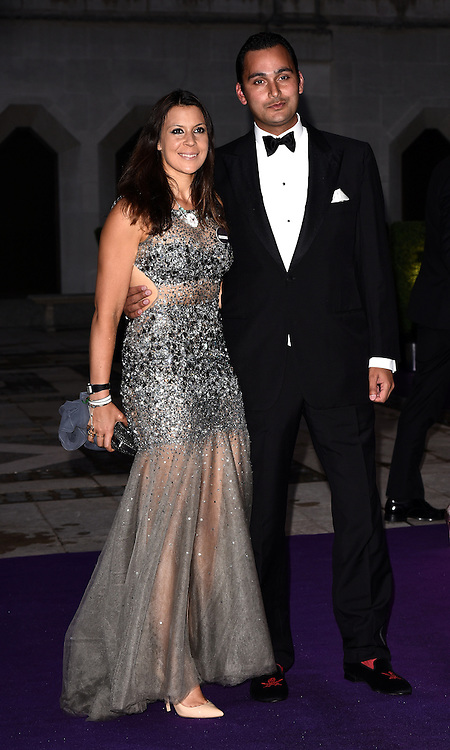 Marion Bartoli and Jonathan Katz attend the 2015  Wimbledon Champions Dinner at The Guildhall, Gresham Street, London on Sunday 12 July 2015