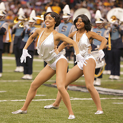 2008 November, 29: The Southern University dance team performs with the band during the 35th annual State Farm Bayou Classic at the Louisiana Superdome in New Orleans, LA.  .