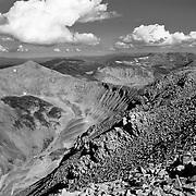 Mt. Sherman, El 14,036, in the Colorado Rockies