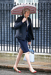 © Licensed to London News Pictures. 10/05/2016. London, UK. Home secretary THERESA MAY arrives at Number 10 Downing Street in Westminster, London for cabinet meeting. Photo credit: Tolga Akmen/LNP