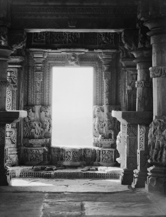 Smaller Sas Bahu Temple, Fort Gwalior, India, 1929