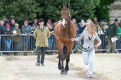Lockwood Louisa, (GBR), Ballyfarris Flight<br /> First Horse Inspection - Mitsubishi Motors Badminton Horse Trials <br /> Badminton 2015