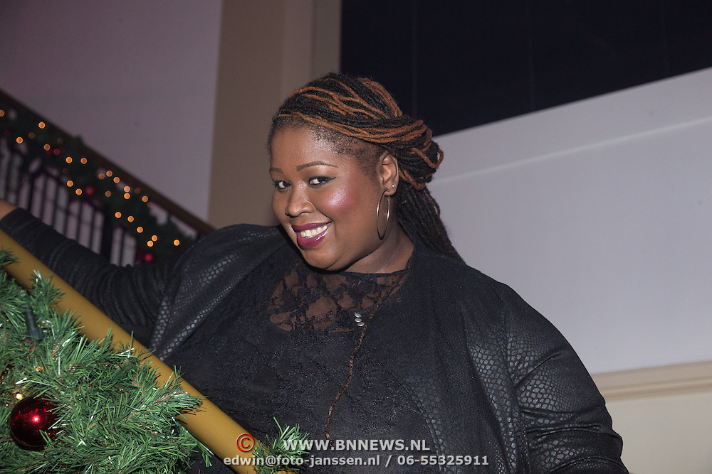 NLD/Hilversum /20131210 - Sky Radio Christmas Tree For Charity 2013, Shirma Rouse