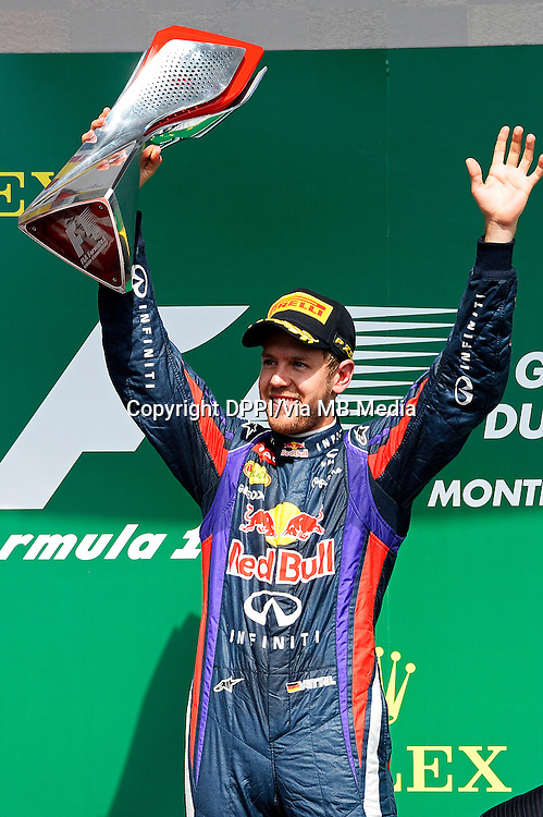 MOTORSPORT - F1 2013 - GRAND PRIX OF CANADA - MONTREAL (CAN) - 07 TO 09/06/2013 - PHOTO ERIC VARGIOLU / DPPI PODIUM - AMBIANCE<br /> VETTEL SEBASTIAN (GER) - RED BULL RENAULT RB9 - AMBIANCE PORTRAIT<br /> ALONSO FERNANDO (SPA) - FERRARI F138 - AMBIANCE PORTRAIT<br /> HAMILTON LEWIS (GBR) - MERCEDES GP MGP W04 - AMBIANCE PORTRAIT