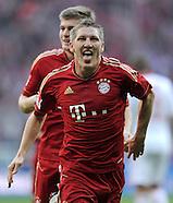 Fussball Bundesliga 2011/12: FC Bayern Muenchen - 1. FC Nuernberg