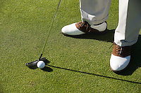 Man putting green (low section)