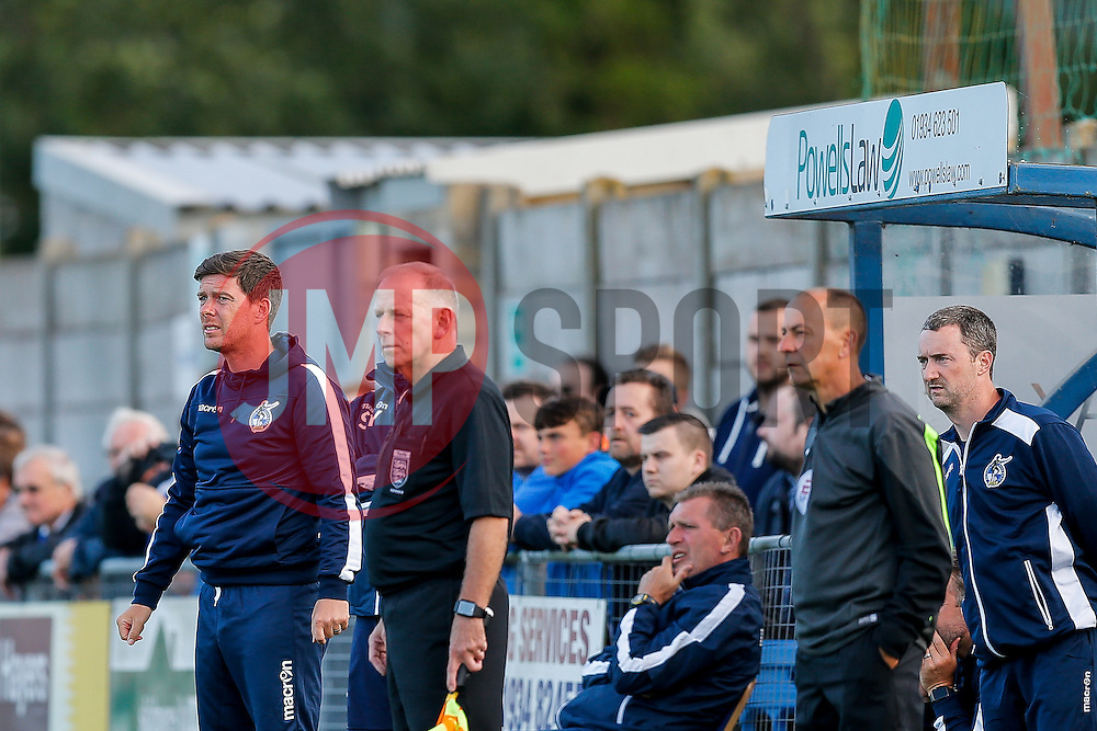 Bristol Rovers Manager Darrell Clarke looks on - Mandatory by-line: Rogan Thomson/JMP - 13/07/2016 - SPORT - Football - Woodspring Stadium - Weston-super-Mare, England - Weston-super-Mare AFC v Bristol Rovers - Pre Season Friendly.