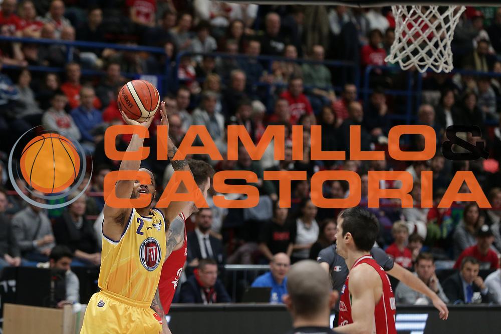 Wright Chris<br /> EA7 Olimpia Milano vs Auxilium Fiat Torino<br /> Lega Basket Serie A 2016/2017<br /> Milano 05/03/2017<br /> Foto Ciamillo-Castoria/A. Gilardi