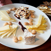 (PFEATURES) Atlantic City 10/23/2003  A selection of cheese to go along with wine inside the ______ Restaurant in the Borgata Hotel and Casino.    Michael J. Treola Staff Photographer....MJT
