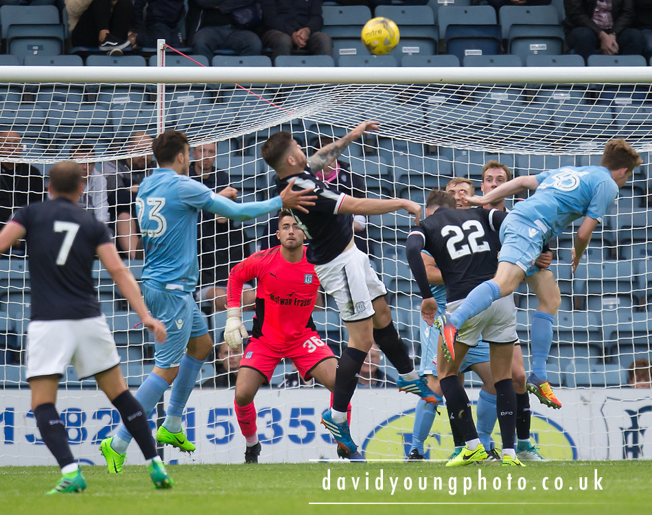 Young keeper Kyle Gourley keeps his eye on the ball - Dundee v Bolton Wanderers pre-seson friendly at Dens Park, Dundee, Photo: David Young<br /> <br />  - © David Young - www.davidyoungphoto.co.uk - email: davidyoungphoto@gmail.com