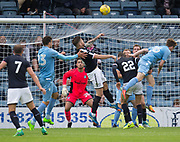 Young keeper Kyle Gourley keeps his eye on the ball - Dundee v Bolton Wanderers pre-seson friendly at Dens Park, Dundee, Photo: David Young<br /> <br />  - &copy; David Young - www.davidyoungphoto.co.uk - email: davidyoungphoto@gmail.com
