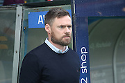 Graham Alexander during the EFL Sky Bet League 1 match between Rochdale and Scunthorpe United at Spotland, Rochdale, England on 10 December 2016. Photo by Daniel Youngs.