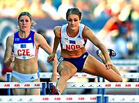 Friidrett<br /> Europacup kvinner<br /> 24.06.2007<br /> Foto: Hasse Sjøgren, Digitalsport<br /> <br /> Christina Vukicevic