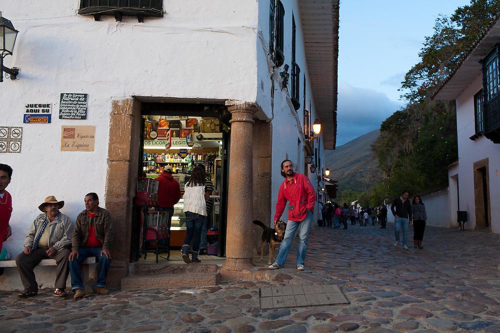 In the Boyaca district of the Colombian heartland Villa de Leyva