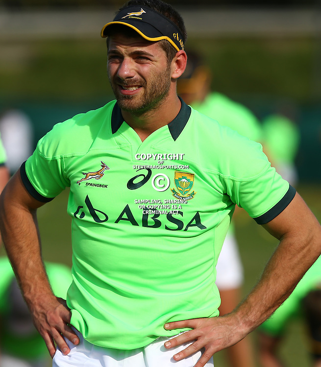 DURBAN, SOUTH AFRICA - AUGUST 04: Willie le Roux during the South Africa Springboks training session at Peoples Park on August 04, 2015 in Durban, South Africa. (Photo by Steve Haag/Gallo Images)