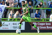 Forest Green Rovers Dominic Bernard(3) runs forward during the EFL Sky Bet League 2 match between Forest Green Rovers and Colchester United at the New Lawn, Forest Green, United Kingdom on 14 September 2019.