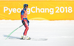 10.02.2018, Jeongseon Alpine Centre, Pyeongchang, KOR, PyeongChang 2018, Ski Alpin, Herren, Abfahrt, Training, im Bild Henrik Von Appen (CHI) // Henrik Von Appen of Chile during the Mens Ski Alpine Downhill Training of the Pyeongchang 2018 Winter Olympic Games at the Jeongseon Alpine Centre in Pyeongchang, South Korea on 2018/02/10. EXPA Pictures © 2018, PhotoCredit: EXPA/ Johann Groder