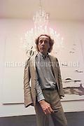 Venice Art Biennale 1997. Self-portrait by Enzo Cucchi / Biennale Arte di Venezia 1997. Autoritratto di Enzo Cucchi - © concept photo Marcello Mencarini