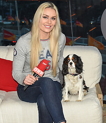 24.02.2018, Austria House, Pyeongchang, KOR, PyeongChang 2018, interview, im Bild Lindsey Vonn // Lindsey Vonn during a interview of the Pyeongchang 2018 Winter Olympic Games at the Austria House in Pyeongchang, South Korea on 2018/02/24. EXPA Pictures © 2018, PhotoCredit: EXPA/ Erich Spiess