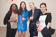DONNA CROSS; PILAR ORDOVAS; SUSAN ALMRUD;  PHUONG BANH, Pilar Ordovas hosts a Summer Party in celebration of Calder in India, Ordovas, 25 Savile Row, London 20 June 2012