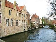 Canal in Brugges, Belgium