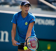 Madison Keys of the United States practices at the 2018 US Open Grand Slam tennis tournament, New York, USA, August 26th 2018, Photo Rob Prange / SpainProSportsImages / DPPI / ProSportsImages / DPPI