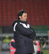Dundee manager Paul Hartley - Ross County v Dundee, Ladbrokes Premiership at Victoria Park<br /> <br />  - &copy; David Young - www.davidyoungphoto.co.uk - email: davidyoungphoto@gmail.com