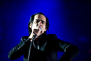 Nick Cave and the Bad Seeds perform during the third day of the 2013 Coachella Valley Music and Arts Festival in Indio, Calif. Sunday.