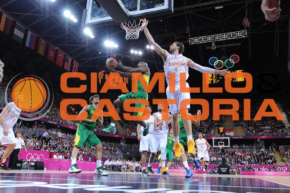 DESCRIZIONE : London Londra Olympic Games Olimpiadi 2012 Men Preliminary Round Spagna Brasile Spain Brazil<br /> GIOCATORE : Larry Taylor<br /> CATEGORIA :<br /> SQUADRA : Brasile Brazil<br /> EVENTO : Olympic Games Olimpiadi 2012<br /> GARA : Spagna Brasile Spain Brazil<br /> DATA : 06/08/2012<br /> SPORT : Pallacanestro <br /> AUTORE : Agenzia Ciamillo-Castoria/M.Marchi<br /> Galleria : London Londra Olympic Games Olimpiadi 2012 <br /> Fotonotizia : London Londra Olympic Games Olimpiadi 2012 Men Preliminary Round Spagna Brasile Spain Brazil<br /> Predefinita :