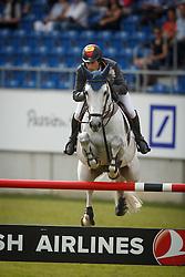Fernandez Saro Manuel, (ESP), Enriques Of The Lowlands<br /> Teamadn 1th individual qualifier <br /> FEI European Championships - Aachen 2015<br /> © Hippo Foto - Dirk Caremans<br /> 19/08/15