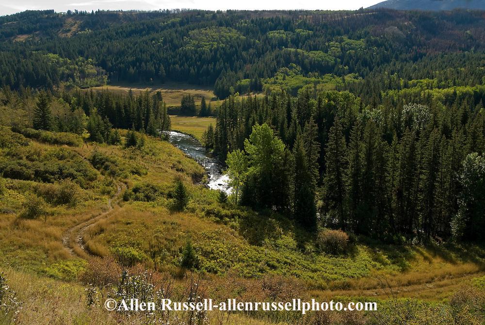 West Boulder River, West Boulder Valley, Gallatin National Forest, Montana