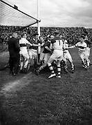 27/7/1952<br /> 7/27/1952<br /> 27 July 1952<br /> <br /> GAA Dublin Football Final Gardai vs. St Vincent's at Croke Park